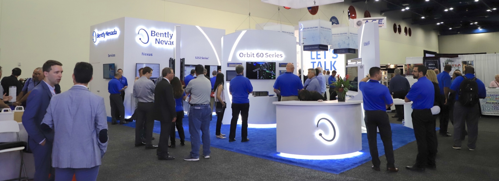BHGE Turbo Social Official Booth