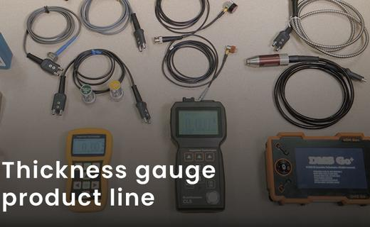 Thickness gauge product line