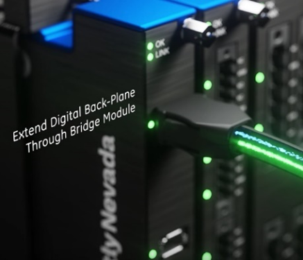 Extend Digital Back-Plane through bridge module