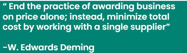 Deming Quote