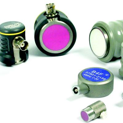 wear resistant, ultrasonic probes, straight beam transducers, ultrasonic testing